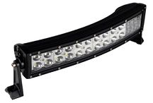 Lampu Led Offroad / . Operating Voltage: 10-30V DC . Waterproof rate: IP 67 . 24pcs*3w high intensity Epistar LEDs . Optional Color: Black,White . Color Temperature: 6000K . Material:Diecast aluminum housing . Lens material: PC . Mounting Bracket: Alu firm bracket