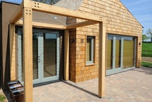 Architecture / Timber cladding can really help your building stand out from the crowd. It looks beautiful and it also adds an extra thermal layer!