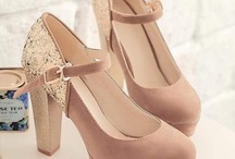Outdoor wedding shoes!