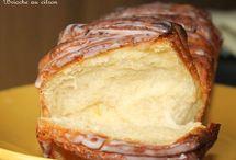 Brioche pain pâte