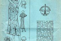 Vintage Sewing/Patterns