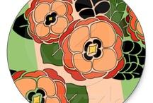 My Designs: Stickers / by Nancy Lorene