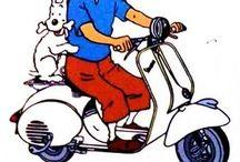 Tintin vespa