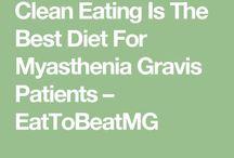 • myasthenia gravis