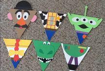 Toy story dekorace