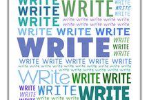 WRITE WRITE WRITE! / by A Novel Idea