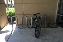 Insite© Campus Mapping / Florida Atlantic University (FAU) / Inisite© Campus Mapping, Site Furnishing and Bicycle Parking Racks Capacity and Effectiveness