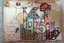 PaperArtsy & similar stamps