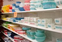 Vintage Wants and Needs / Vintage Pyrex, Tupperware, and Corelle goodies