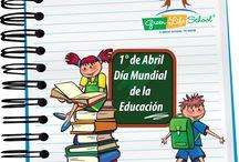Abril 1, día mundial de la educación.