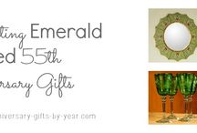55th Anniversary Gift Ideas