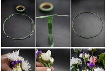Blommer i håret <3
