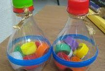 Juegos y juguetes con botellas