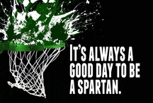 ALL MSU SPARTANS / Go Green. Go White / by Kathleen King