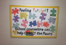 School Counseling Bulletin Boards / Collection of fun, informative, and/or amazing school counseling bulletin boards.