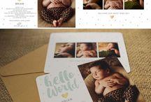 Invitatii de botez / Comanda o invitatie de botez pentru evenimentul bebelusului tau! http://danielasterea.ro/newborn-cards/ Share with love!