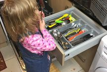 Safe kitchen chores for toddlers