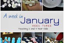 January crafts / by Tina Kaul