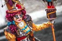 Karneval in Venedig /  venezianische Kostüme und Masken