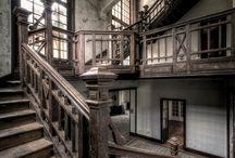 Vecchie case abbandonate