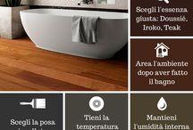 Il #parquet in #bagno!