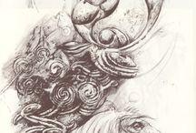 Dark Crystal/Labyrinth Sleeve / by Stephanie Altenhofel