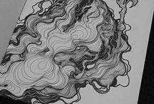 smoke drawings