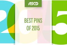 Best Pins of 2015 / Check out the most popular ASCD pins from 2015!