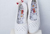 calzado al crochet