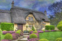 Angielskie domy. / Urokliwe angielskie domy