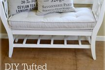 Tufted French mattress