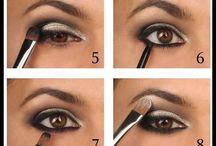Passos de maquiagem