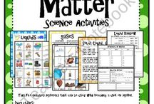 Science: Matter- Solid Liquid Gas / by Jennifer Iles
