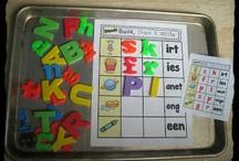 Blends and Diagraphs / by Kristen's Kindergarten