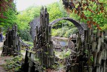 Parky a zahrady v Evropě