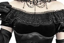 Gothic and steampunk / My interest in the gothic and steampunk attire
