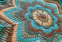Crocheted home _ كروشية المنزل / Multiple ideas for the home of crocheted / by Nariman Aburish