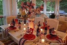 Red, white and BEAUTIFUL!! / by Christy Sturgill