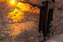 Atardecer de invierno