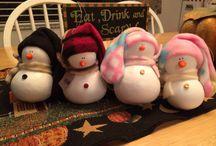 Snow people / Snowmen, snow ladies snow babies