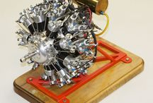 Model engine steam stirling glow diesel