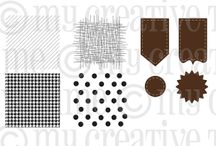 Build a Banner Kit / Inspiration for this stamp set and coordinating dies!