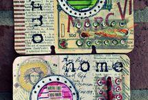 rolodex cards.