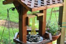 Ornamentos de jardim