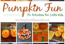 Lesson Plans for Pumpkins and Apples