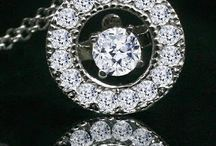 Forever Rhythm Motion Earrings Pendant Collection Simulated Diamonds