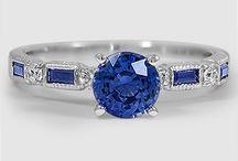 rings Sapphire & diamond white gold / Women