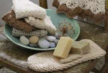 Pakucho Organic Crochet Bath Collection.