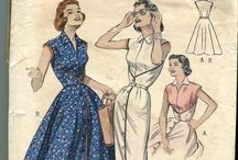 dress walk-away vintage 50s