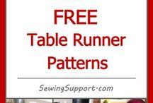 Table runner ideas